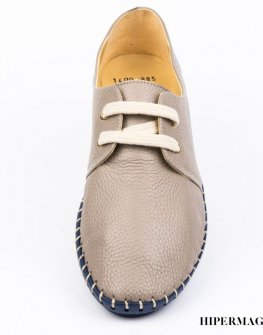 Ниски обувки от естествена кожа Sara Pen