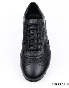 Мъжки ежедневни обувки в черен цвят Sara Pen
