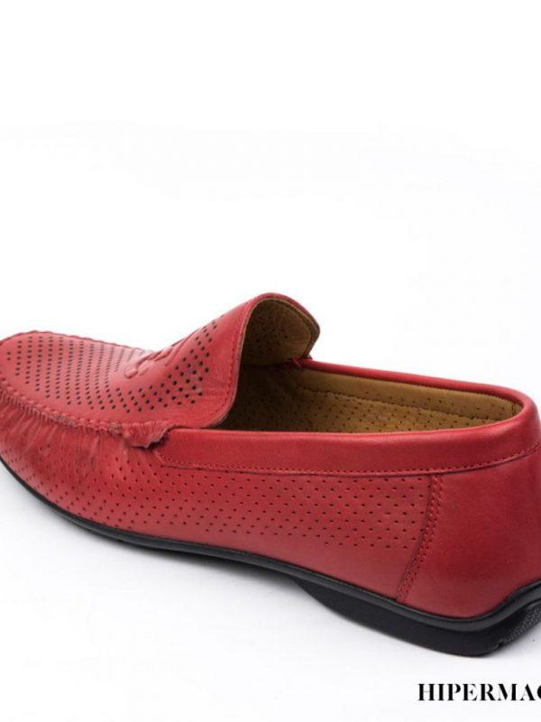 Мъжки ежедневни обувки в червено Sara Pen