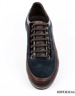 Мъжки обувки в кафяво и синьо Sara Pen