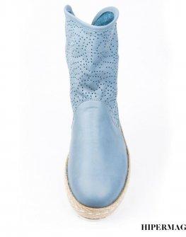 Дамски ботуши в синьо Sara Pen