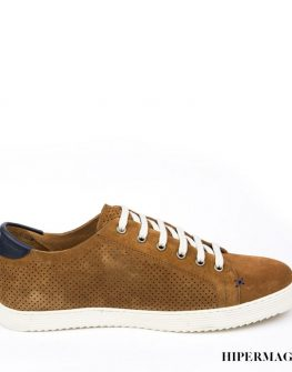 Спортно - елегантни мъжки обувки в кафяво Sara Pen