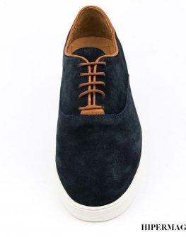 Мъжки велурени обувки Sara Pen