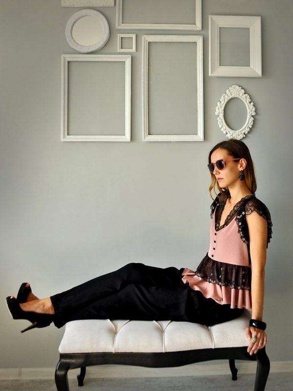 Дизайнерска блуза Vionnet