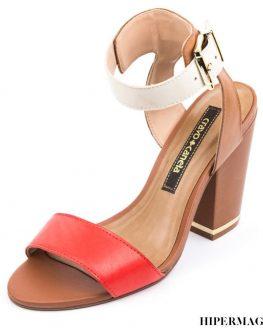 Елегантни сандали от естествена кожа Cravo & Сanela