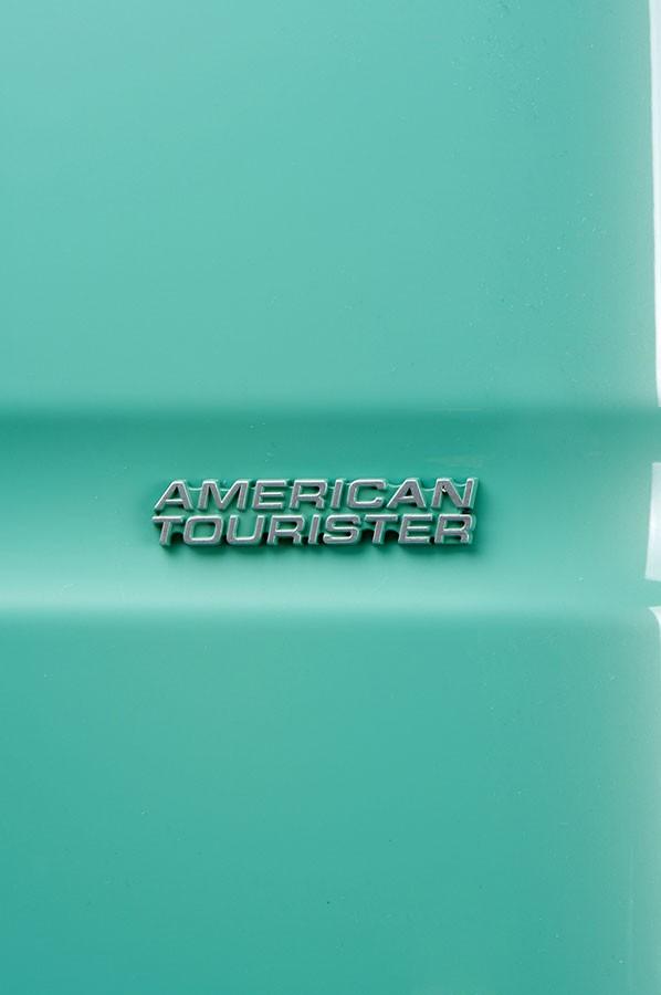 Куфар - цвят тюркоаз American tourister