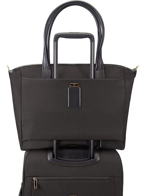 Дамска бизнес чанта Samsonite - черен цвят