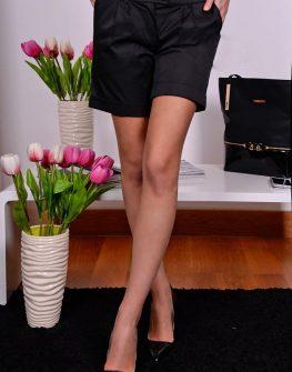 Къси панталонки в черен цвят