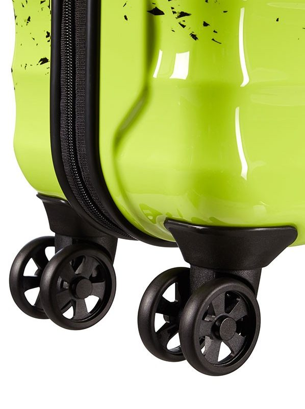 Спинер в зелено и черно American tourister - 55 см