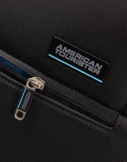 Куфар с допълнително разширение American tourister - черен цвят