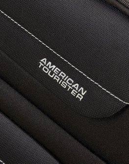 Черен малък куфар American tourister