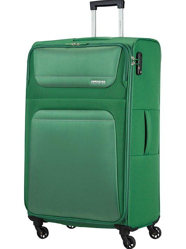 Спинер на 4 колела American tourister в зелено
