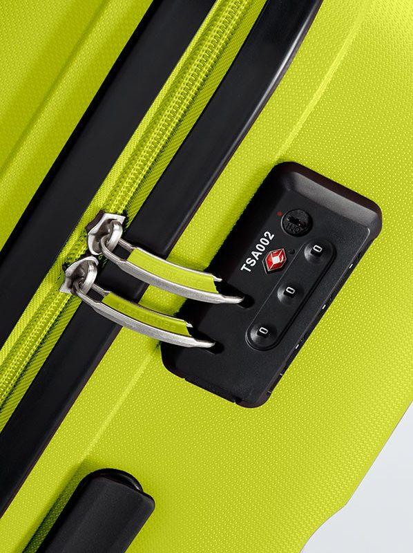 Спинер American tourister в сигнален жълто-зелен цвят