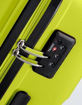 Спинер за ръчен багаж American tourister - жълто-зелен цвят