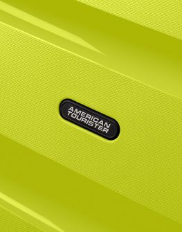 Куфар на 4 колела в сигнален цвят American tourister