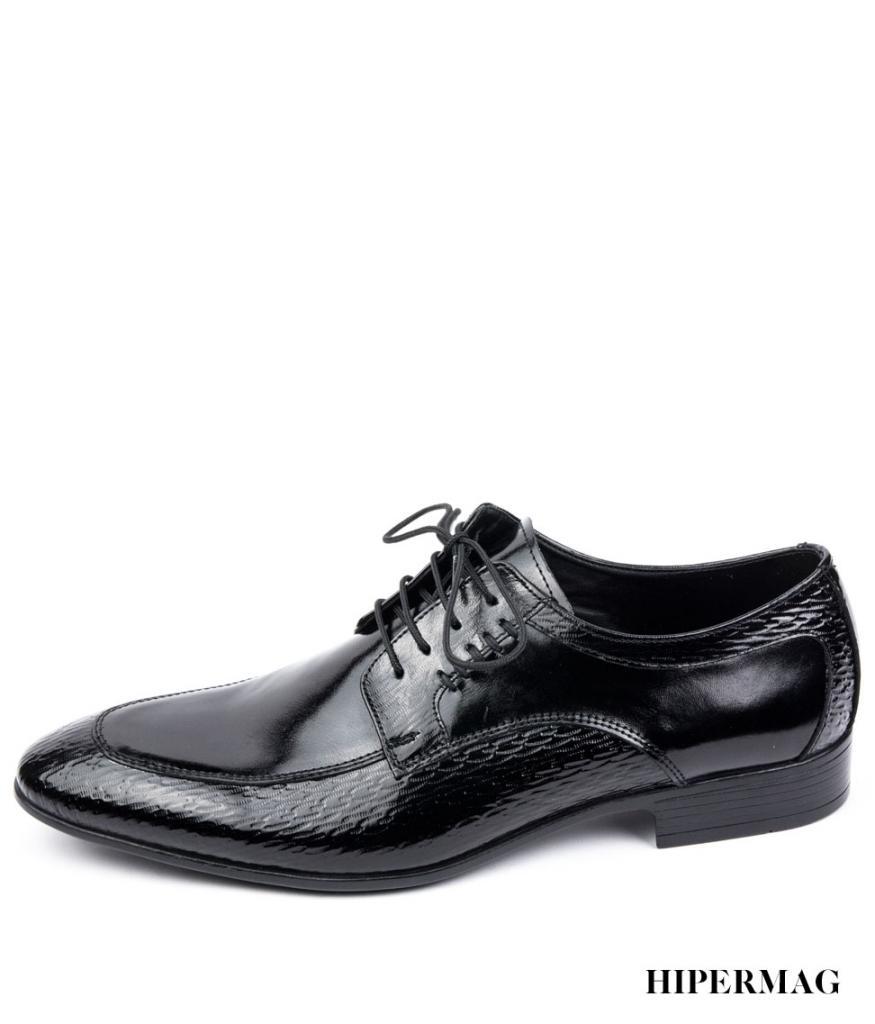 Официални мъжки обувки в черен цвят Balis