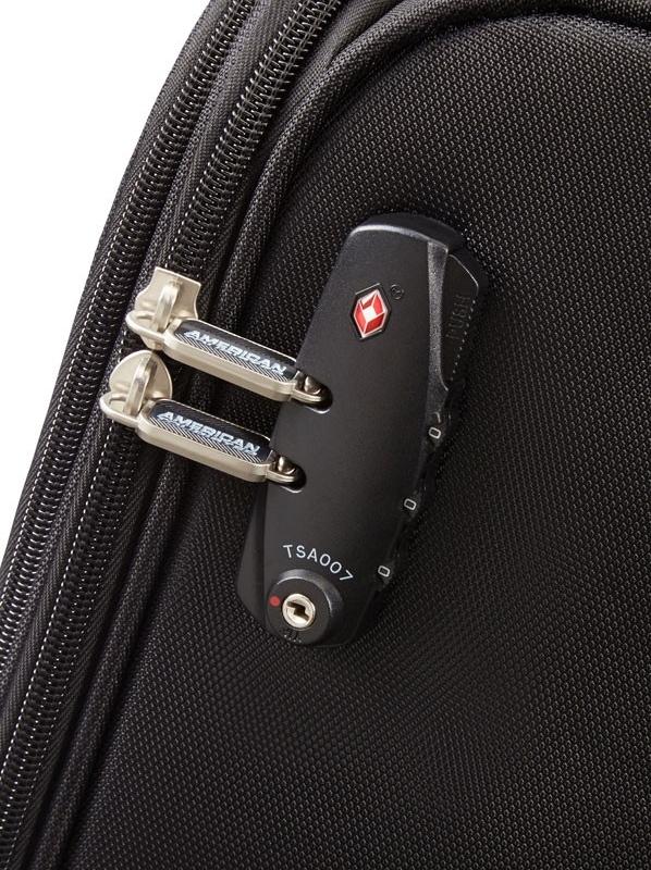 Куфар American tourister в черен цвят - 55 см
