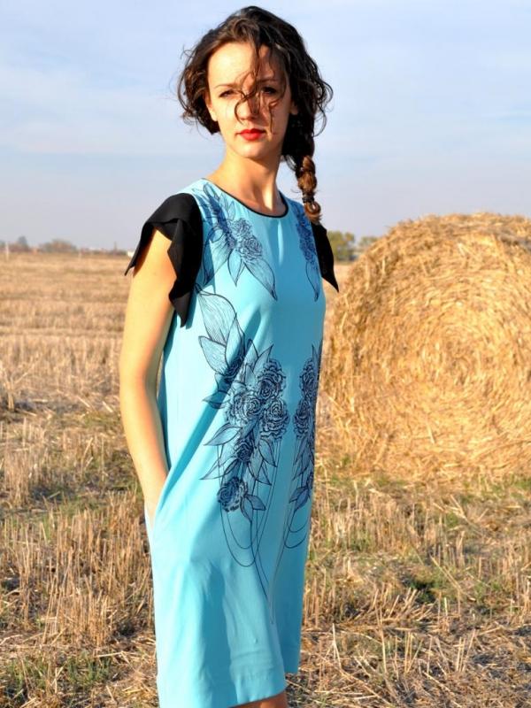 Рокля в синьо Joanne