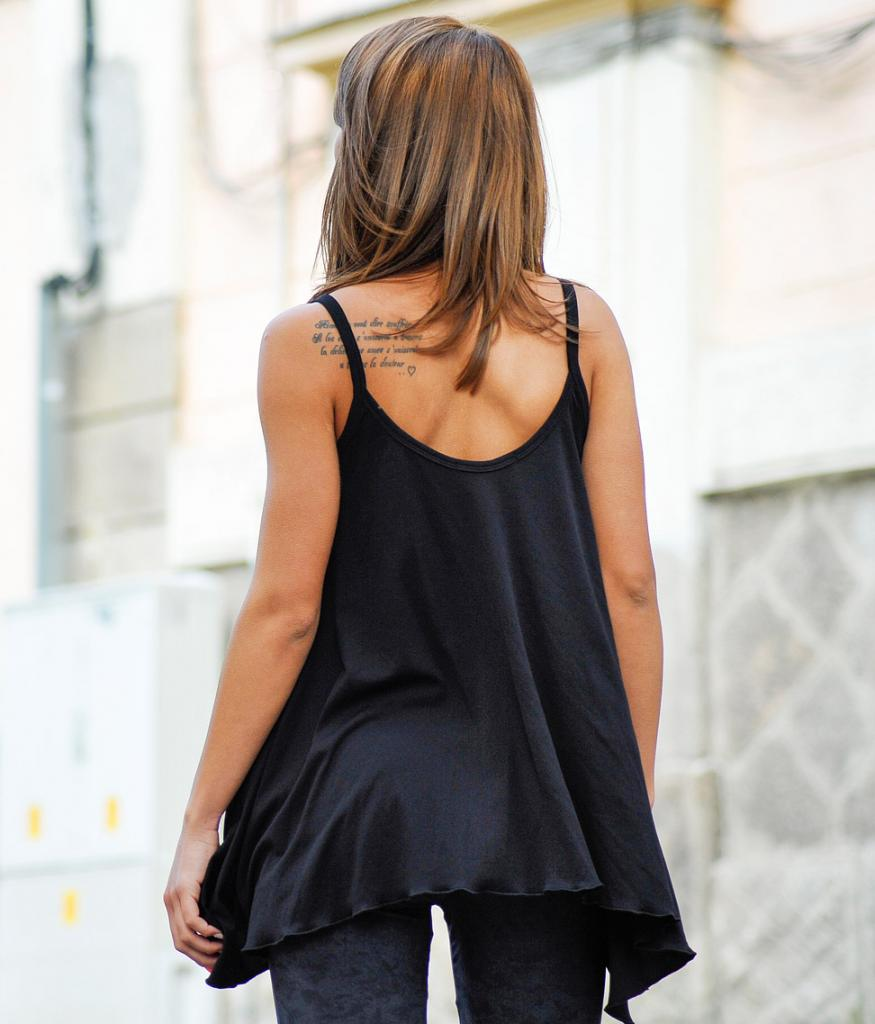 Дамски потник в черен цвят La Speciale