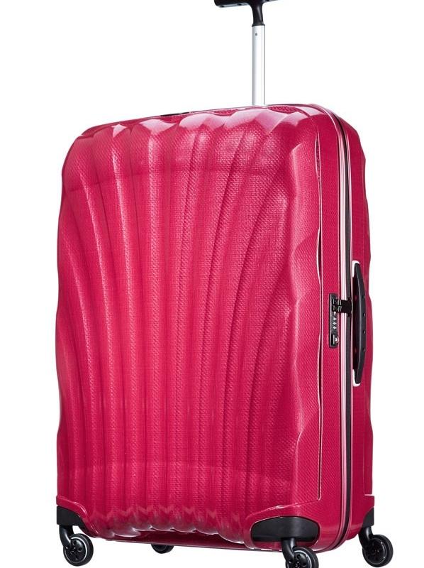 Розов куфар на 4 колела Samsonite