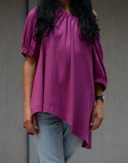 Дамска блуза в лилаво Kotyto