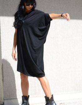 Дизайнерска рокля с един ръкав Kotyto