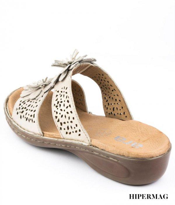 Бежови ортопедични чехли Ara