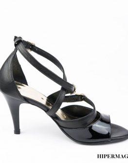 Черни високи сандали Balis