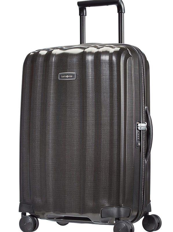 Черен куфар на 4 колела Lite-Cube DLX