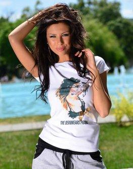 Бяла тениска DPmoda