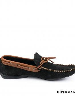 Мъжки обувки SARA PEN в черно и кафяво