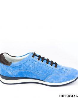 Мъжки маратонки - син велур Sara Pen