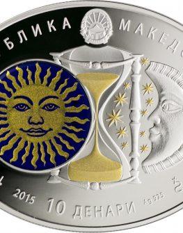 "Сребърна монета ""Зодиакални знаци – Телец"""