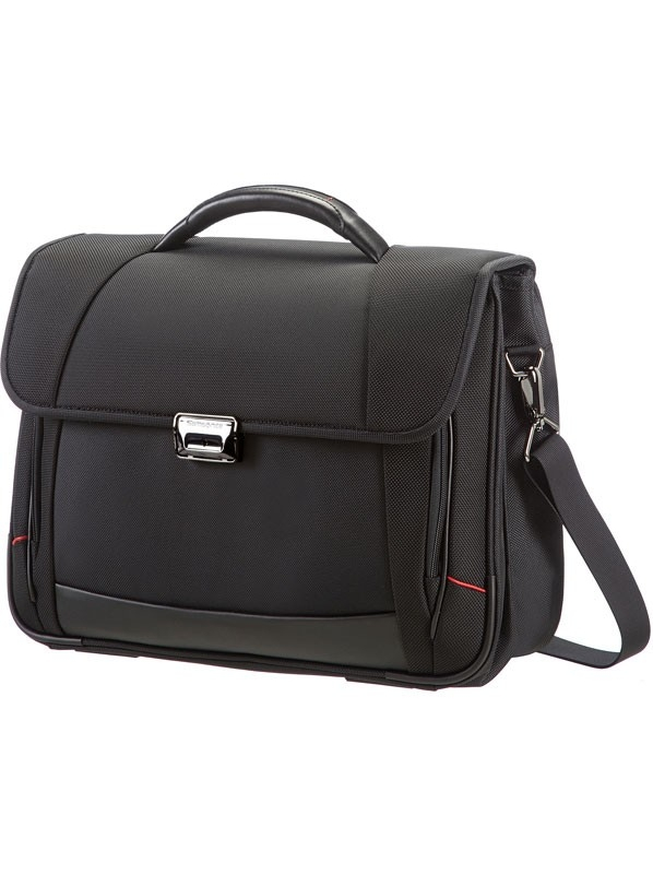Бизнес чанта в черен цвят Samsonite