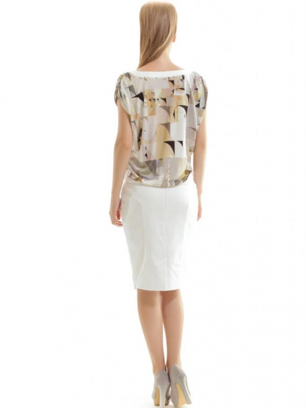 Дамска блуза в бежово CONQUISTA