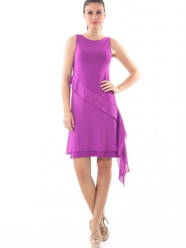 Лятна рокля в лилаво CONQUISTA