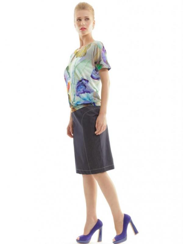Дамска блуза с флорален принт CONQUISTA