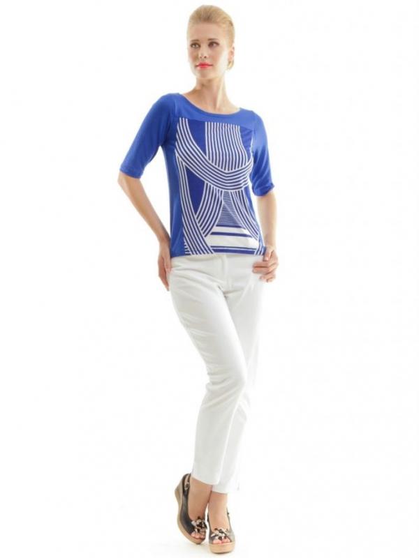 Дамска синя блуза CONQUISTA