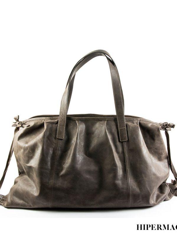 Велурена дамска чанта Kotyto