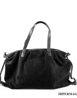 Дамска кожена чанта в кафяво Kotyto