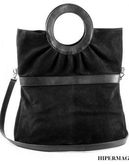 Кафява чанта от естествена кожа Kotyto