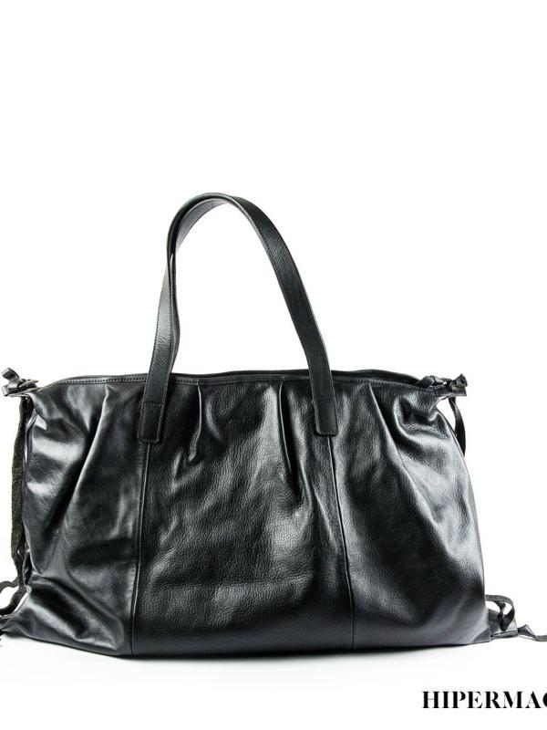 Кафява кожена чанта Kotyto