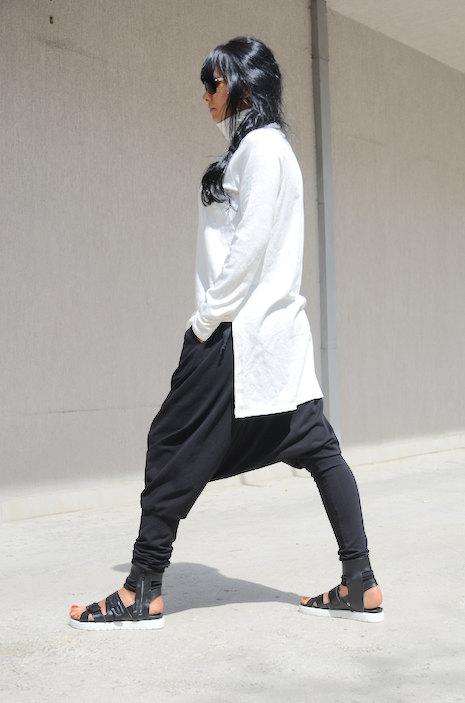 Дамски панталон в черно Kotyto