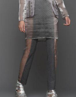 Дамски панталон с прозрачни ленти Pulse