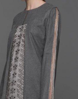 Екстравагантна асиметрична рокля Pulse