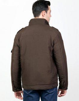 Мъжко яке Styler в кафяв цвят