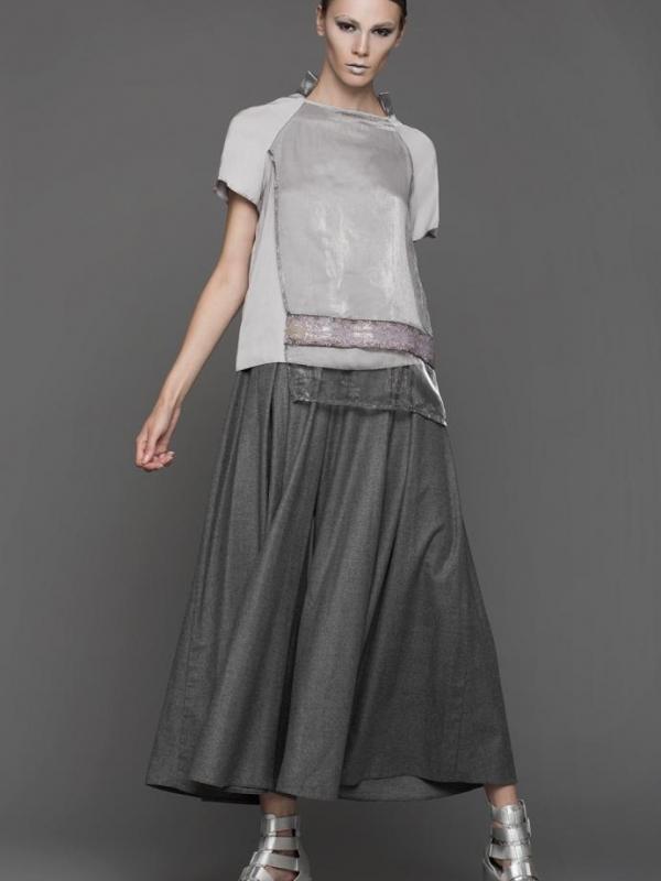 Разкроен дизайнерски панталон Pulse