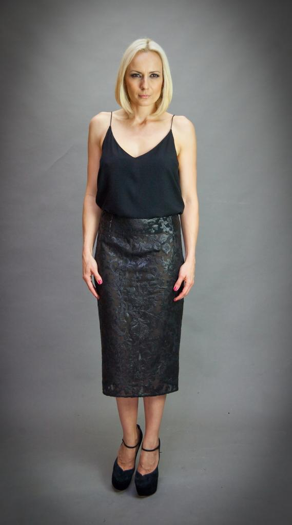 Елегантна пола с висока талия Aggata