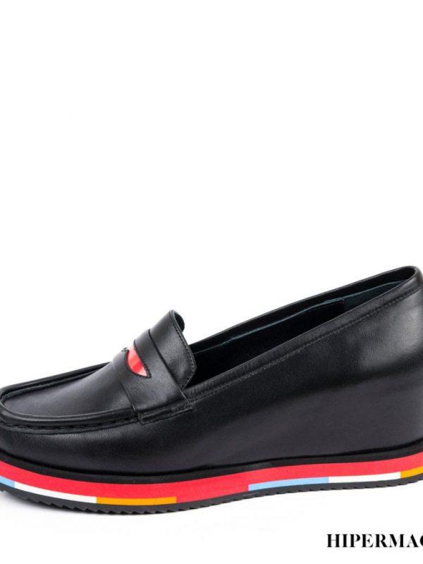 Дамски обувки с цветна платформа Sara Pen