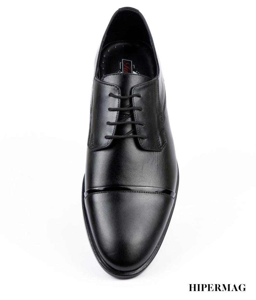 Черни мъжки елегантни обувки Balis